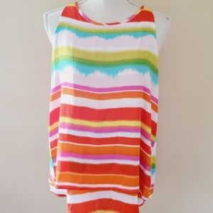 New Directions striped blouse size medium